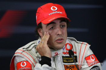 Qualifying press conference: pole winner Fernando Alonso