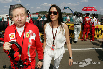 Jean Todt, Scuderia Ferrari, Ferrari CEO and Dr. Michelle Yeoh Girlfriend of Jean Todt