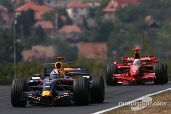 David Coulthard, Red Bull Racing, Felipe Massa, Scuderia Ferrari