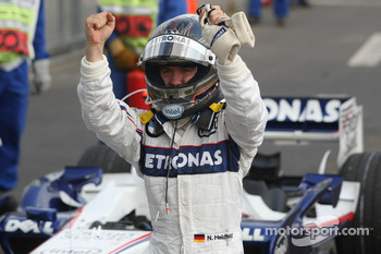 Third place Nick Heidfeld, BMW Sauber F1 Team