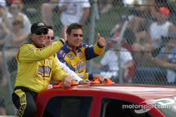Drivers introduction: Ron Hornaday and Scott Pruett