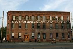 A landmark building in Watkins Glen