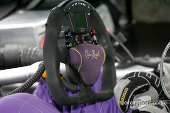 Steering wheel of the #39 Cheever Racing - Pontiac Pontiac Fabcar