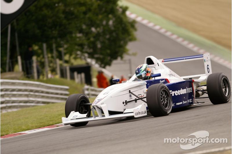 #6 Oliver Webb (GB) Carlin Motorsport Formula BMW FB2