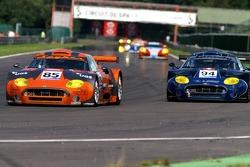 #85 Spyker Squadron Spyker C8 Spyder GT2R: Peter Kox, Jarek Janis, #94 Speedy Racing Team Spyker C8 Spyder GT2R: Andrea Belicchi, Andrea Chiesa, Jonny Kane