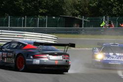 #59 Team Modena Aston Martin DBR9: Antonio Garcia, Christian Fittipaldi spins in les Combes