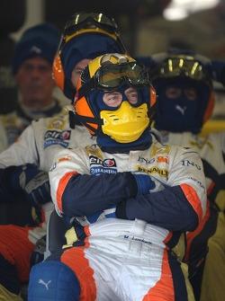 Renault pit stop crew