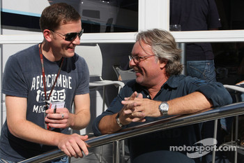 Georg Nolte talks with Keke Rosberg
