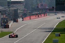 Kimi Raikkonen, Scuderia Ferrari goes out of the pits