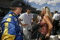 Joey Hand, Patrick Dempsey and Yvette Auberlen