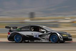 #21 Matt Connolly Motorsports Pontiac GTO.R: Keith Rossberg, Lara Tallman