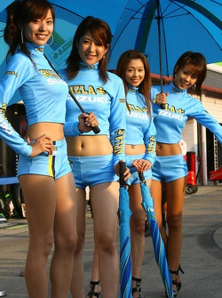 Lovely Rizla+ Suzuki girls