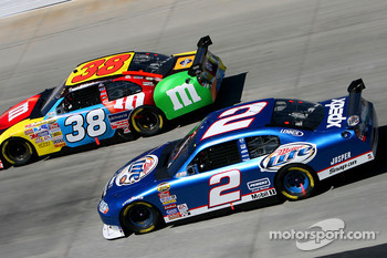 Kurt Busch and David Gilliland