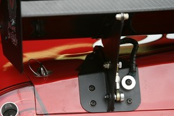 Rear wing detail on the Bud Chevy