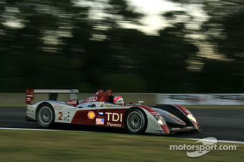 #2 Audi Sport North America Audi R10 TDI Power: Lucas Luhr, Marco Werner