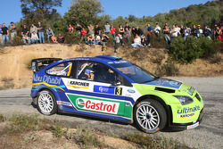 Marcus Gronholm and Timo Rautianen, BP Ford, Ford Focus WRC