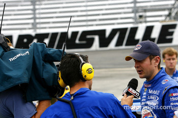 Kurt Busch gets some TV time