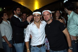 Felipe Massa and Rubens Barrichello