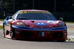 #51 AF Corse Motorola Ferrari 430: Gianmaria Bruni, Stéphane Ortelli