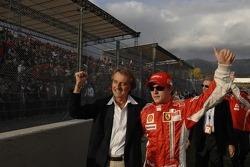 Luca di Montezemolo and Kimi Raikkonen