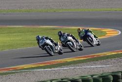 Shinya Nakano, Carlos Checa and Valentino Rossi