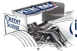 Grand Prix of Italy, September, rear wing
