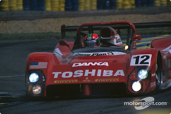#12 Doyle Risi Racing Ferrari 333SP: Wayne Taylor, Eric van de Poele, Fermin Velez