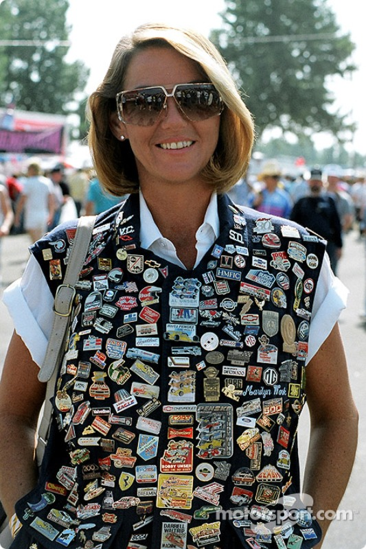 A Fan with a Lot of Pins