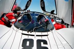 #86 Bayside Racing Porsche 962: Bruce Leven, Bill Adam