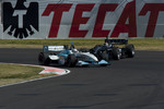 Graham Rahal passes Alex Figge in trouble