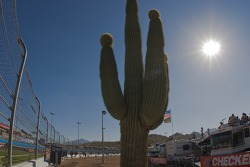 Trackside ambiance at Phoenix