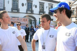 Grosjean, Asmer and Senna get together