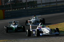Luuk Glansdorp, Fortec Motorsport and Tiago Geronimi, Eifelland Racing