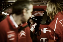 Citroen Total WRT team members at work