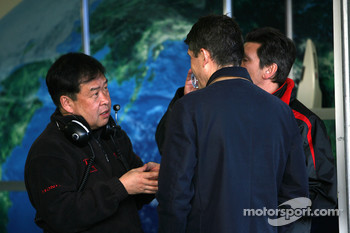 Shuhei Nakamoto, deputy MD, Honda Racing F1 Team, Nick Fry, Honda Racing F1 Team, Chief Executive Officer