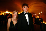 Rally driver Marcus Gronholm and his wife