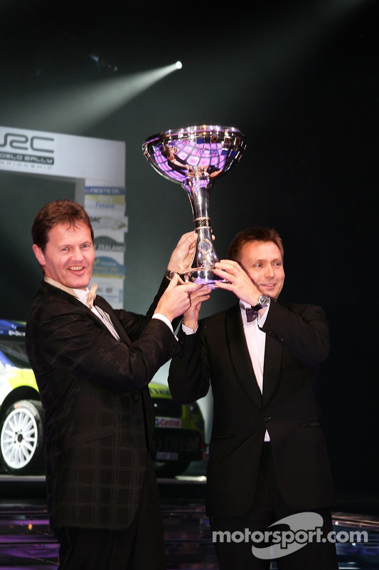 FIA World Rally Championship: Malcolm Wilson and Jost Capito, Ford