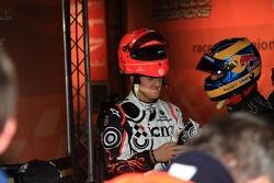 Michael Schumacher and Sébastien Bourdais