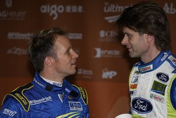 Petter Solberg and Marcus Gronholm