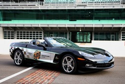 This will be the record fifth consecutive year that a Corvette will pace the field at Indianapolis