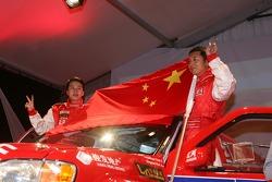 Team Dessoude presentation in Saint Lo: Hua Qingxian and Tian Chuannan