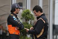 Серхио Перес, Sahara Force India F1, Федерико Гастальди, Lotus F1 Team Deputy Team Principal