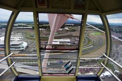 Valtteri Bottas, Williams FW37 taken from the big wheel.