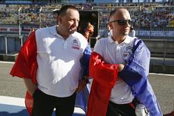 Yves Matton and Xavier Mestelan Pinon, Citroën World Touring Car team