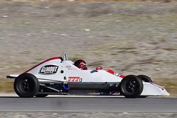 Leah Pritchett tests a Formula Ford