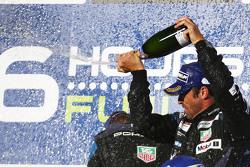 Winner GTE-Am class Patrick Dempsey, Dempsey Proton Competition