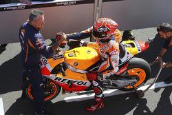 Polezitter Marc Marquez, Repsol Honda Team