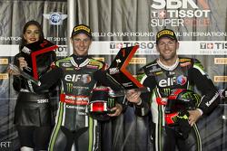 Jonathan Rea, Kawasaki and Tom Sykes, Kawasaki
