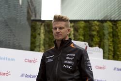 Nico Hulkenberg, Sahara Force India en la Ciudad de México