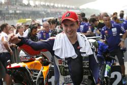 Segundo lugar, Jorge Lorenzo, Yamaha Factory Racing
